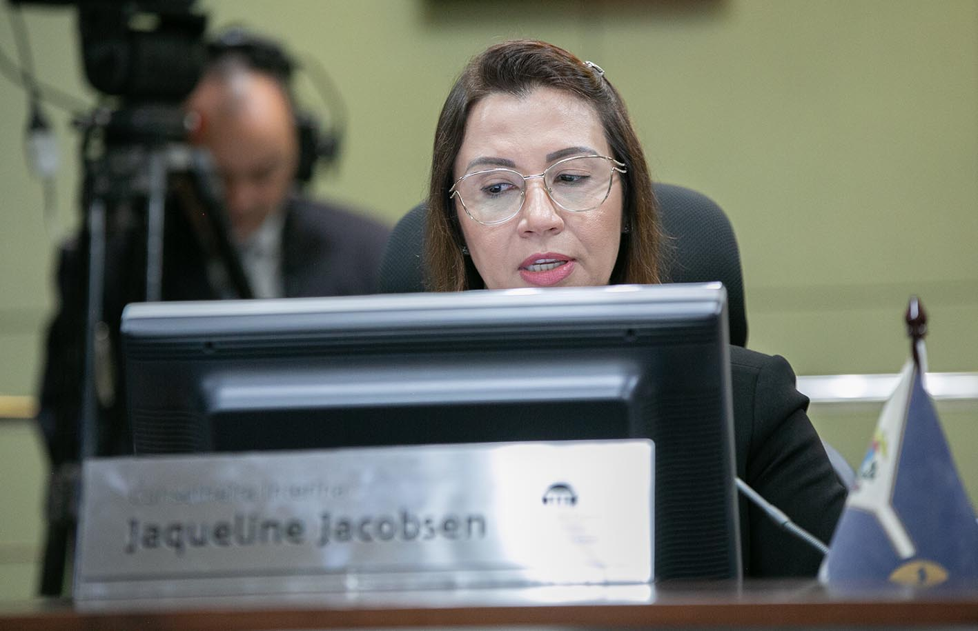 Conselheira interina, Jaqueline Jacobsen