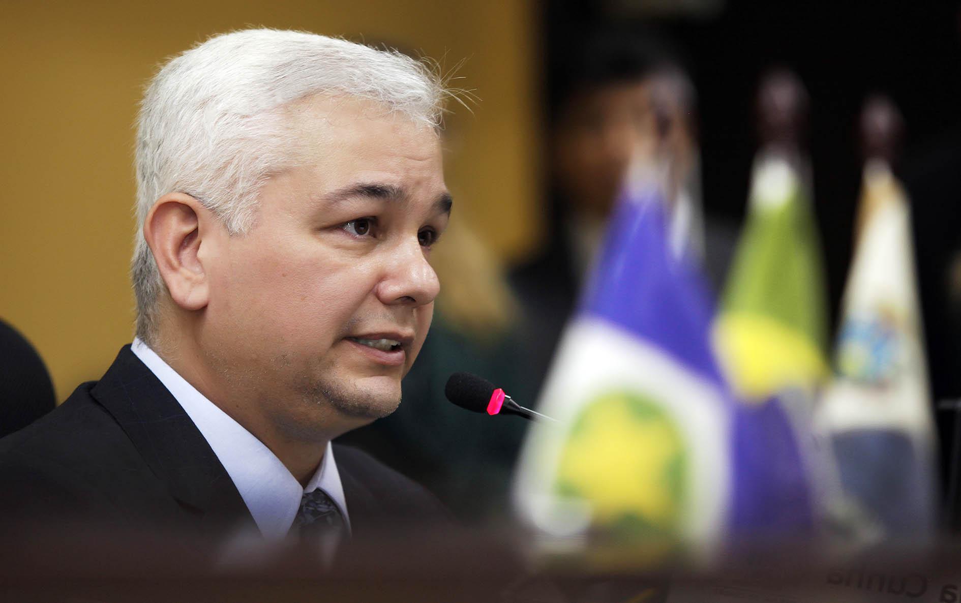 Conselheiro interino ouvidor-geral - Luiz Carlos Pereira