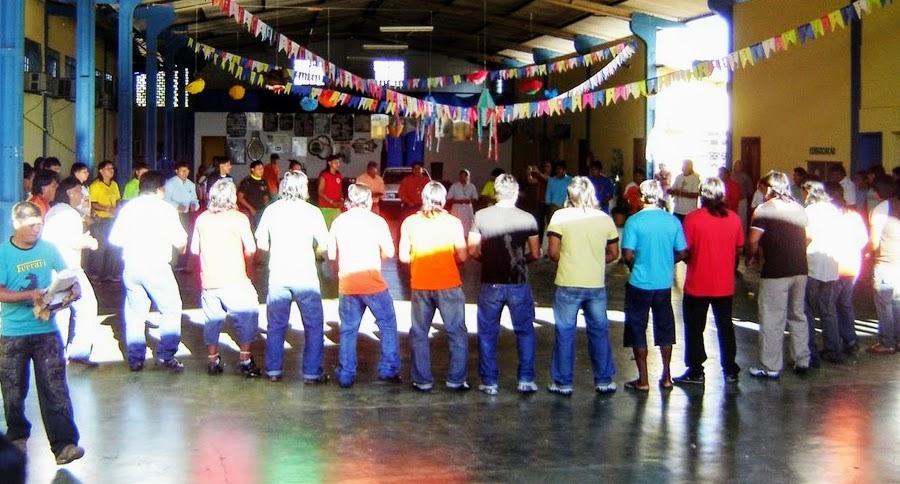 Índios da etnia Xavante participam do evento educacional