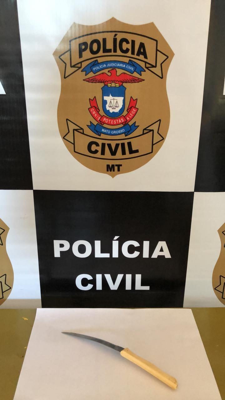 Polícia Civil prende mulher em flagrante por homicídio em Cocalinho