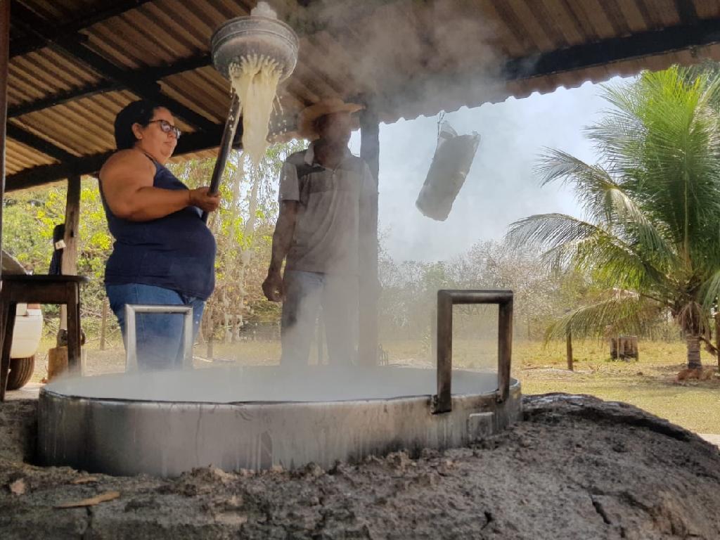 Produção mensal é de mais de 1.500 quilos de doce de leite