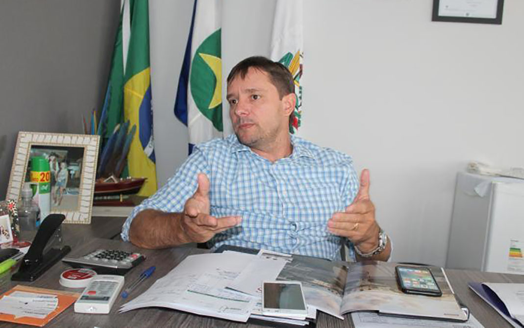 Jeovan Faria prefeito de campinapolis