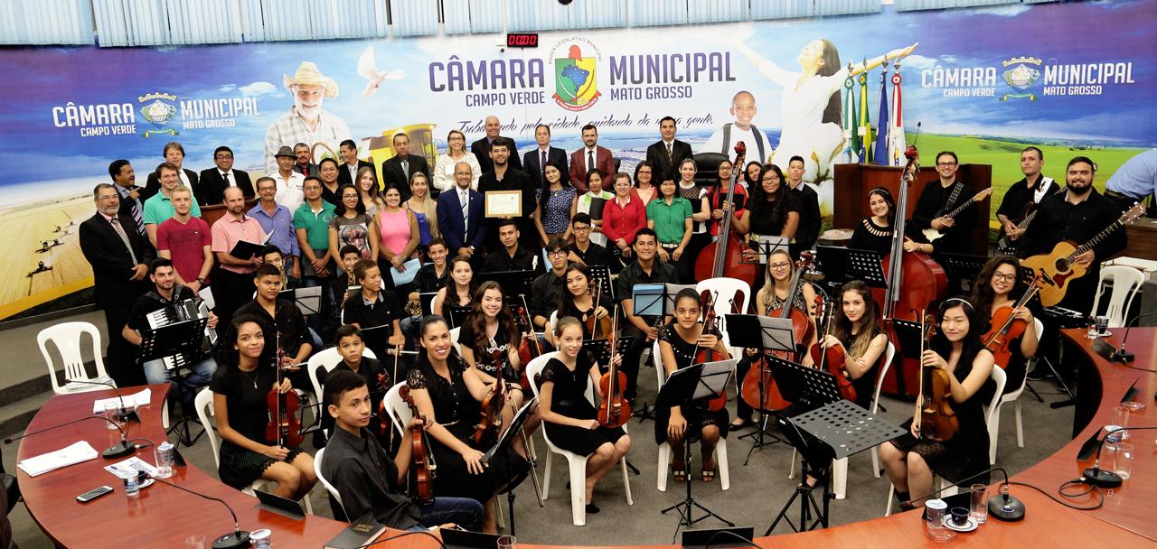 orquestra sinfonica jovem de campo verde