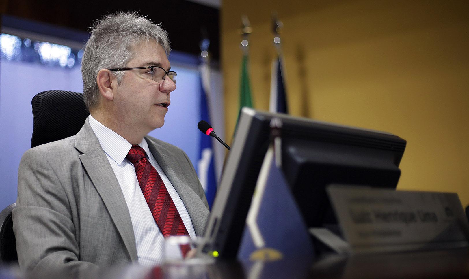 Conselheiro interino vice-presidente do TCE-MT - Luiz Henrique Lima