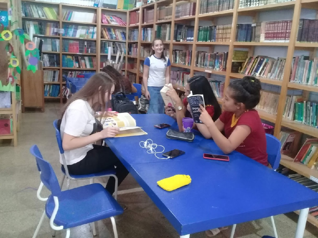 Estudantes escolhem nome de biblioteca em Campo Novo do Parecis
