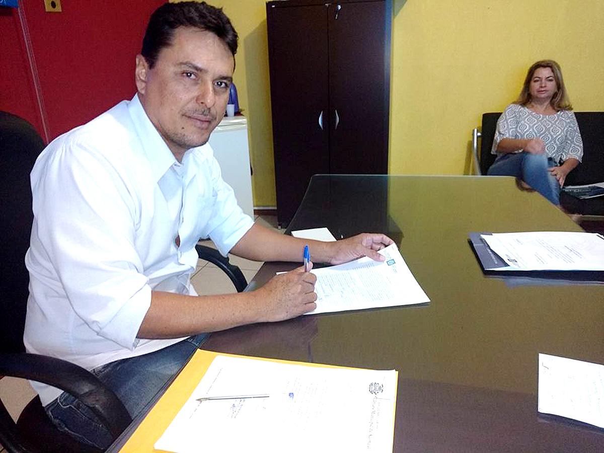 Prefeito de Acorizal Clodoaldo Monteiro