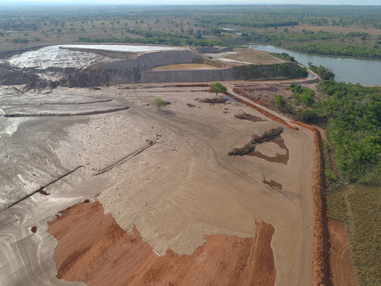 Rompimento de barragem em Livramento
