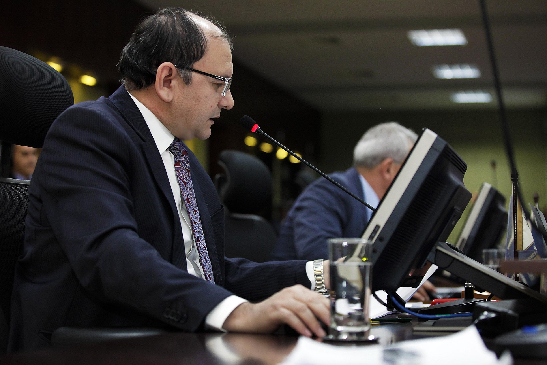 Conselheiro interino corregedor-geral do TCE-MT - Isaias Lopes da Cunha