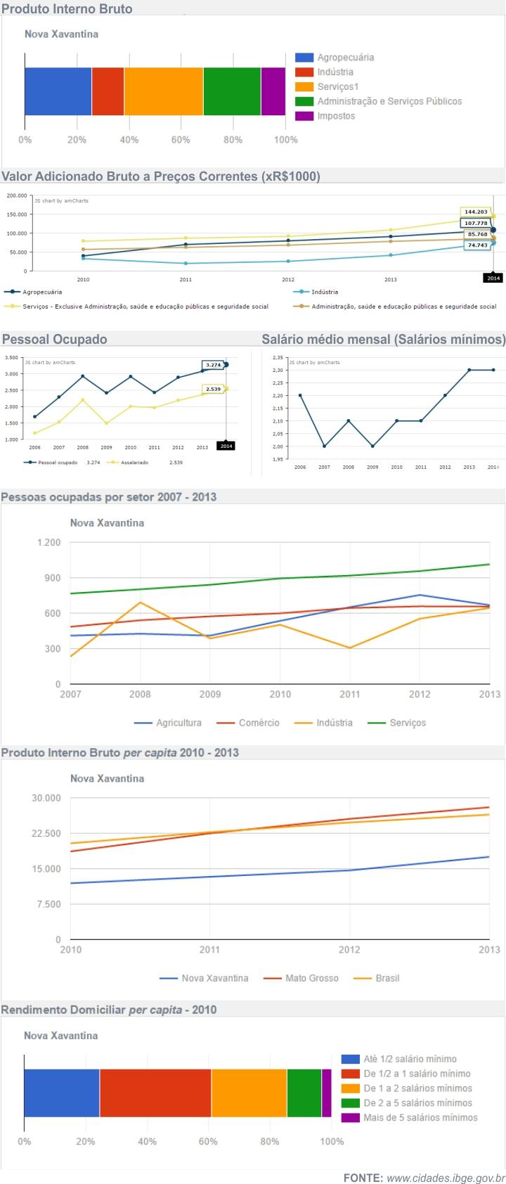Economia de Nova Xavantina